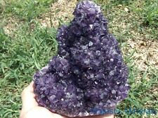 SUPER HIGH QUALITY__HUGE Uruguay Amethyst Quartz Crystal Pineapple Burr Cluster