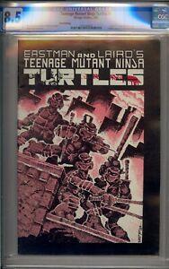 TEENAGE MUTANT NINJA TURTLES #1 CGC 8.5 THIRD PRINTING WHITE PAGES