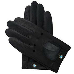 BMW Driving Gloves Black Leather Xtra-Large  80162150528  OEM