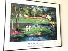 Mark King De Soto Springs Pond Golf Signed Poster Martin Lawrence Galleries 1990