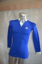 MAILLOT VELO JE TAILLE 1 JERSEY/MAGLIA/BIKE VINTAGE 1970 MADE IN FRANCE TOUR