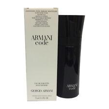 Armani Code by Giorgio Armani 2.5 oz 75 ml Men Eau de Toilette TST New !!