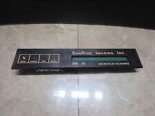 SUNRISE IMAGING MICROFILM SCANNER SRI 50 DMS150-9353-029-A CNC