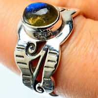 Labradorite 925 Sterling Silver Ring Size 8 Ana Co Jewelry R25331F