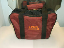 New listing Duckpin Bag/Epco Red Nylon/2 Ball/Very Good Used Condition/2 Ball Divider Inside