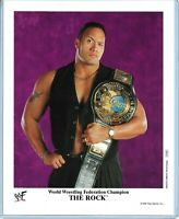 WWE THE ROCK P-500 OFFICIAL LICENSED ORIGINAL 8X10 PROMO PHOTO VERY RARE