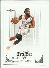 James Harden 2014-15 Panini Excalibur GOLD #113  #05/10  Houston Rockets