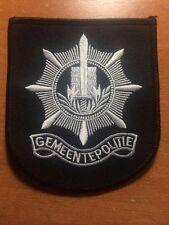 PATCH POLICE NETHERLANDS (DUTCH)