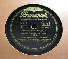Louis Armstrong u.s. Allstars - New Orleans Function 1&2 Teil BRUNSWICK (1204)