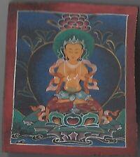 BUDDHA THANGKA * NEPAL / TIBET / HIMALAYA * YACKHORN