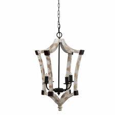 """Andreas Winged Chandelier 18""""x18""""x27"""" - 43473-DS"""