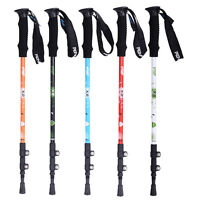 3-Section Carbon Telescopic Nordic Outdoor Walking Trekking Pole Hiking Stick