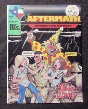 1984 AFTERMATH #2 VF- 7.5 Last Gasp / Gulf Coast Comics - Killer Clowns