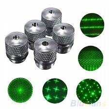 5Pcs Converter Light Refraction Head For Green Red Blue Laser Pointer Pattern