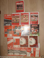Arsenal Home Team Under 18s/ 21s Football Programmes