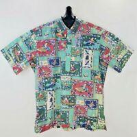 Reyn Spooner Mele Kalikimaka Christmas 2003 Hawaiian Aloha Shirt XL
