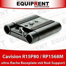 Cavision r15p80/rp1568m Ultra Piatta Rig basetta con 15mm Rod Support eq031