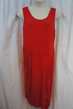 "Nine West Woman Dress Sz 14W Burnt Suns Red ""Urban Nomad"" Rayon Casual dress"