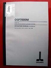 Okuma CNC Systems Control Software ReInstallation 4060-E (LE51-041-R1) Inv.12430