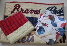 Pottery Barn Kids Quilt Baseball Mlb Sham Sheet Set Twin Nationals Free Ship!