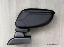 Armrest Centre Console Storage Adjustable Black Armcik Volkswagen Tiguan 2007-