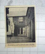1951 Courtyard Of The Block Of Flats And Houses In The Digey St Ives