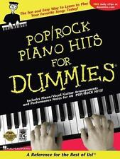 Pop/Rock Piano Hits for Dummies. Hal Leonard / Robbie Gennet, LNC