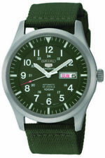 Seiko 5 Military Style Khaki Green Men's Watch SNZG09K1 SNZG09K SNZG09 RRP £199