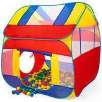 Peradix Spielzelt Kinderzelt Babyzelt mit krabbeltunnel 3-Teiliges B/ällebad Spielhaus mit Zelt Tasche und Tunnel f/ür Zuhause /& im Garten Mehrweg Ohne B/älle-Blau