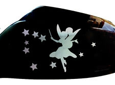 Fairy Stardust Car Sticker Wing Mirror Styling Decals (Set of 2), Chrome
