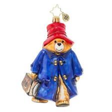Christopher Radko Paddington Bear  Glass Ornament