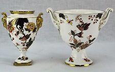 Coalport England Hong Kong pattern two miniature vases / bowls. (BI#MK/170715)