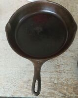 "Vintage  Cast Iron SKILLET Frying Pan # 10 11 3/4"" Made in U S A"