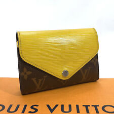 LOUIS VUITTON Tri-fold wallet M60427 Portefeiulle Marielou/Epi Leather yellow