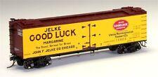 MTH HO, 80-94036 Jelke Good luck Margarine Woodside Reefer Car # 10803