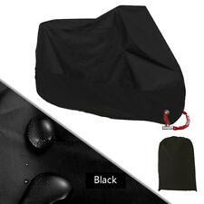 Bike Motorcycle Cover M Waterproof Outdoor Rain UV Protector Motorbike M Black