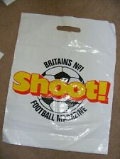 Shoot - World Soccer football magazines Plastic merchandise bag