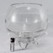 Dollhouse Miniature Cute Transparent Glass Jar Fishbowl Bank Flower pot HV