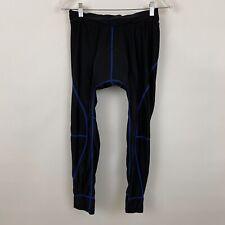 Ekouaer Cycling Pants Womens medium black padded fitted stretch