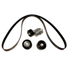 V-Ribbed Belt A/C Belt Tensioner Pulley Kit For Hyundai Santa Fe Kia Sorento 2.4