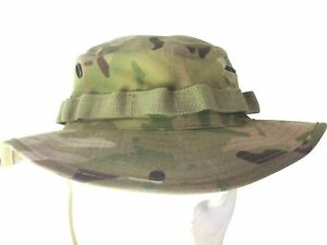 """ARMY MILITARY US STYLE BOONIE HAT BUSH AIRSOFT HELIKON US CAMOGROM 7 1/4"""" 58-59"""