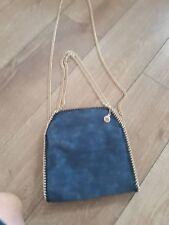 Stella McCartney Falabella bag bluewith GOLD Hardware