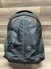Dell Backpack Laptop Notebook Genuine RV5TV VDPX7  Black and Orange