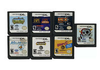 Nintendo DS Game Lot Of 7: Noah's Ark, Aquarium, Ener-G, 50 Classic Games & More