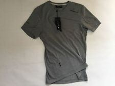 Porsche Design Sport Tech Wool Tee sz M New+Tags Spa Club Allday T-Shirt Grey