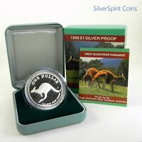 1998 KANGAROO PROOF Silver Coin