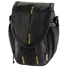 Hama Canberra 90 Camera Case in Black with Yellow (UK Stock) BNIP