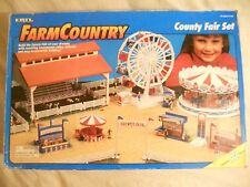 Ertl Farm Country Toy County Fair Livestock Animal Set MIP 1/64!! Tractor