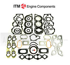 Engine Full Gasket Set fits 1984-1989 Nissan 300ZX Turbo 3.0 V6 VG30T ITM