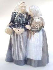 "Royal Copenhagen Figurine The Gossips by C.Thomson of Denmark 11 3/4"""